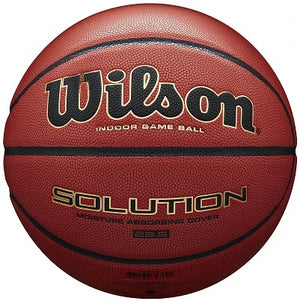 Basketball England Wilson Solution Basketball - Package of 5 Balls