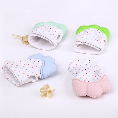 Quality Baby Silicone Teething Mittens (Discount C)