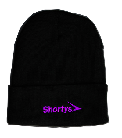 Shortys Brand Logo Beanies - Mamba and Mambacita Edition