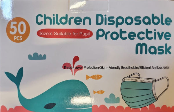 Children's 3-Ply Procedure Mask (2,000 Count)