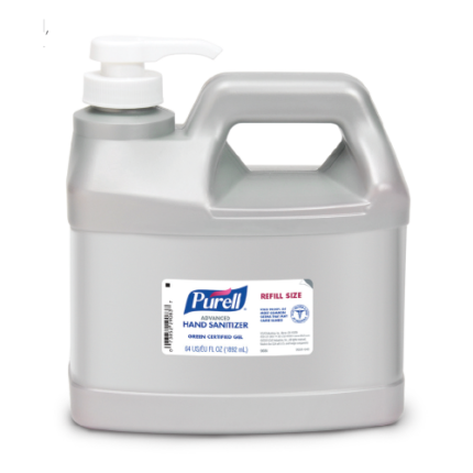 Purell Advanced Hand Sanitizer Gel Pump Bottle (0.5 Gallon)