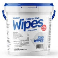 Sanidry Disinfectant Wipes (300 Count)