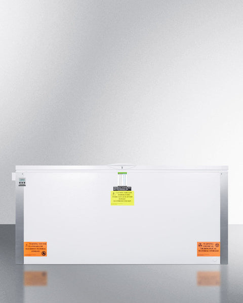ACCUCOLD® 25 CU.FT. CHEST FREEZER (-35ºC CAPABLE)