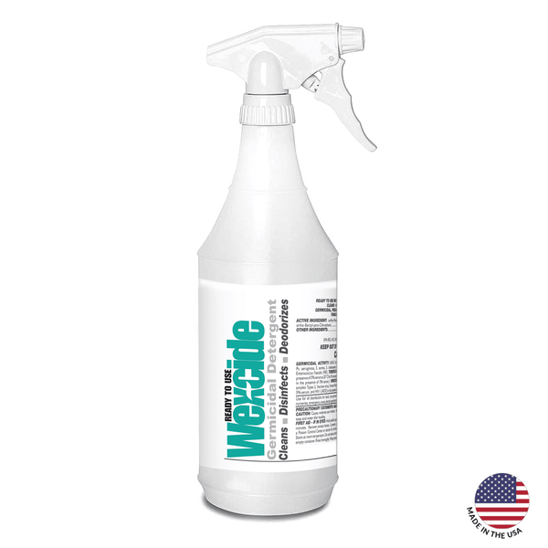 Wex-Cide Healthcare Germicidal Disinfectant Cleaner (32 oz)