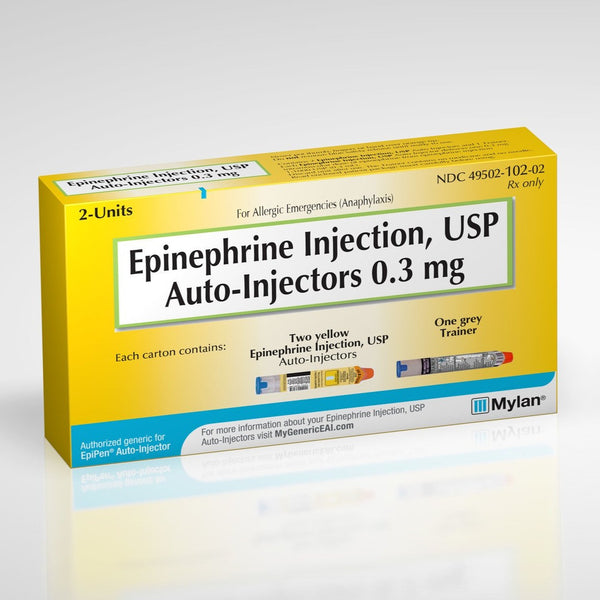 Epinephrine Auto-Injector (Authorized Generic of EpiPen® and EpiPen Jr®)