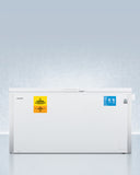 ACCUCOLD® 18 CU.FT. LABORATORY CHEST FREEZER (-35ºC CAPABLE)