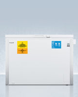 ACCUCOLD® 18 CU.FT. CHEST FREEZER WITH ICE BANK (-30ºC CAPABLE)