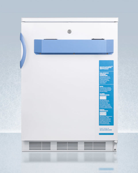 ACCUCOLD® 24″ WIDE BUILT-IN ALL-FREEZER, ADA COMPLIANT (-25ºC CAPABLE)