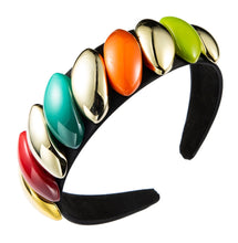 Load image into Gallery viewer, Multi color luxury Headband