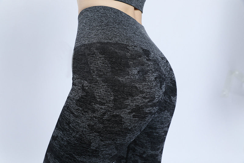 seamless camo leggings for women