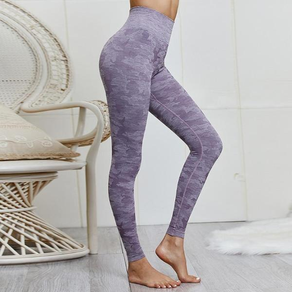 Women's camouflage gym leggings