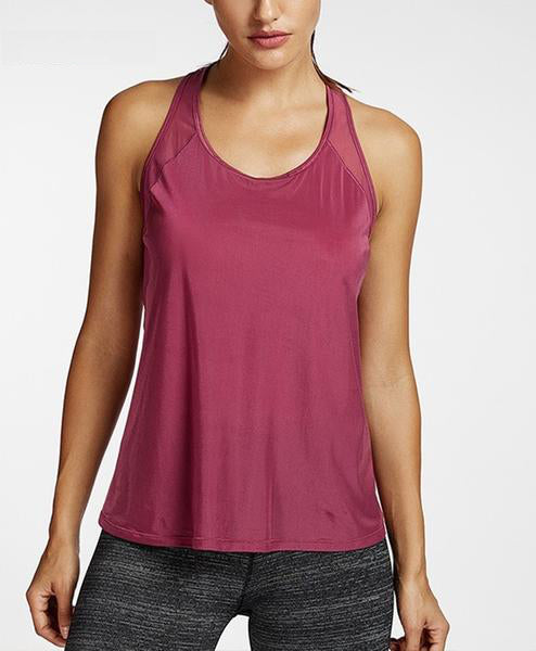 red gym top women's