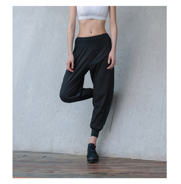 Luscious Reflective Loose Pants