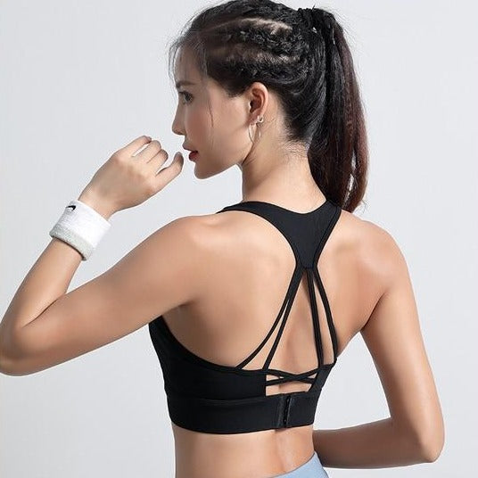 Guerencia Mitigative Padded Racerback Sports Bra