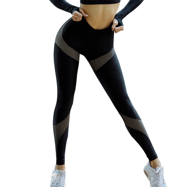 Upbeat Reverie Mesh Up Legging