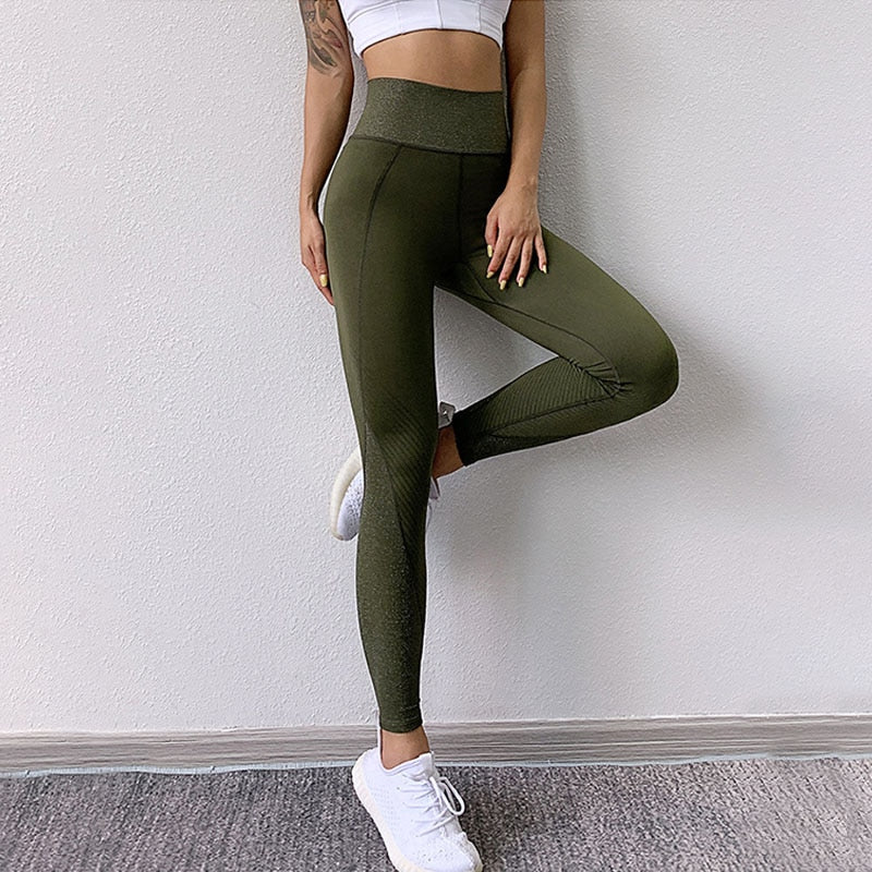 Vivacious Tacenda Sparkling Yoga Athleisure Wear Leggings