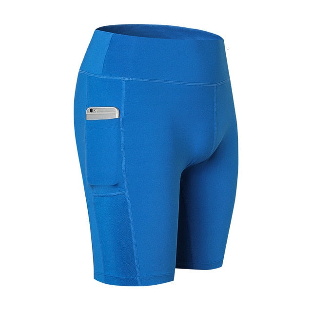 Clingy Plié Seamless Yoga Compression Shorts