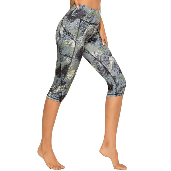 Breeches Athleisure Capri Sports Leggings