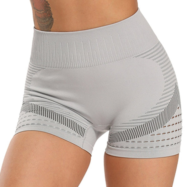 Biker's Gauge High Waist Wicking Active Shorts