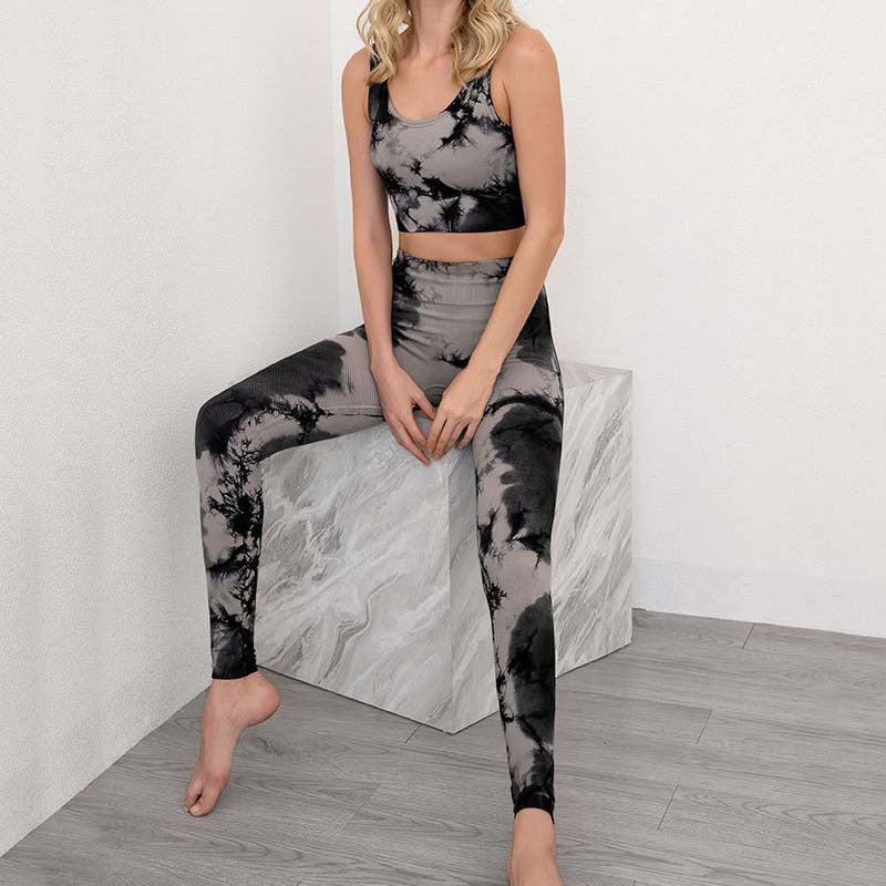 Essential Activewear Marbling 2pc Set