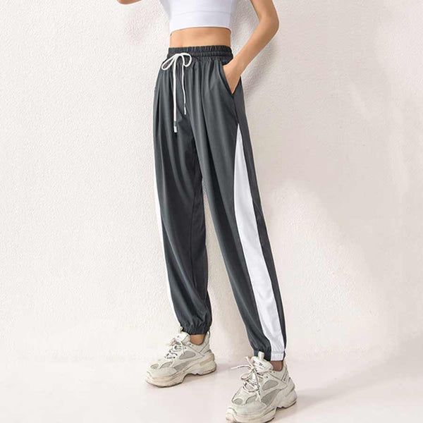 Elated Patchy Pocket Athleisure Wear Sports Pants