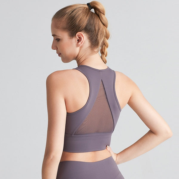 Sharp Curve Sports Bra