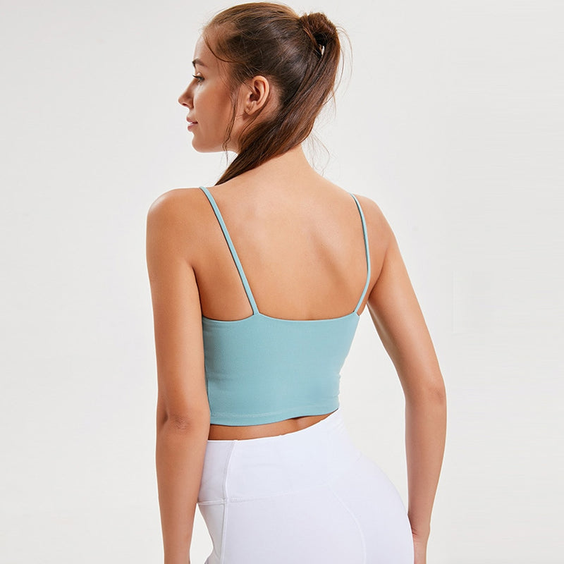 breathable tiny strap top