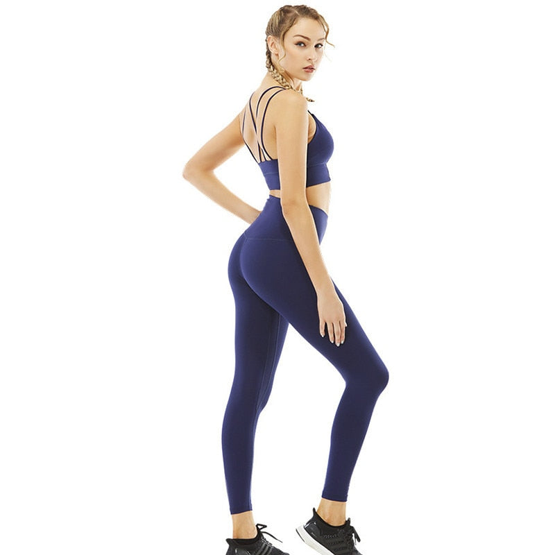 Essential Activewear Matching Workout Top and Bottom