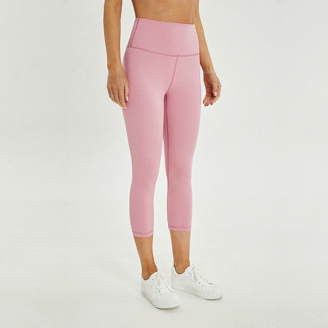 pink seamless legging