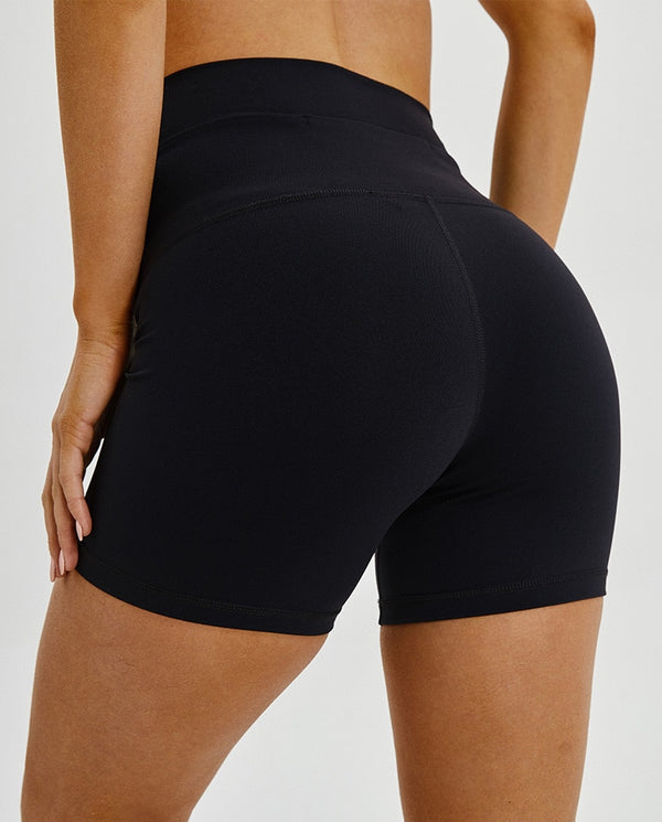 women's Black workout shorts