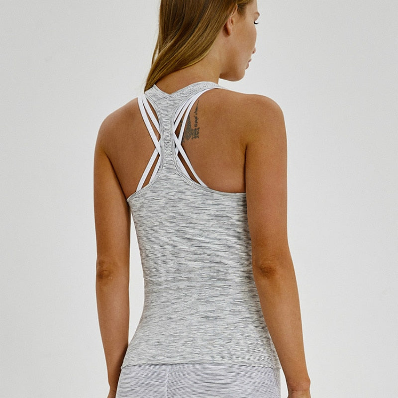 women's essential racerback