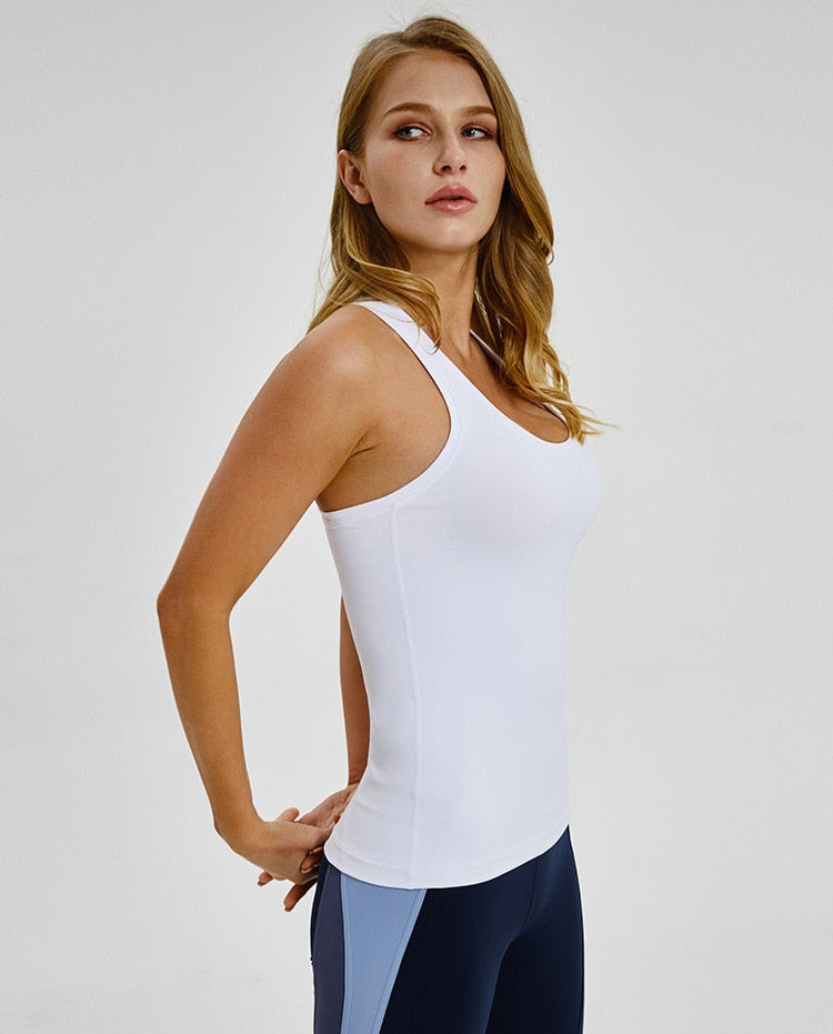 Women's movement gym tank
