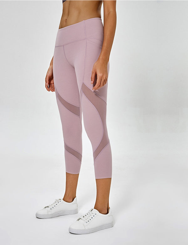 Pink Seamless Workout Legging
