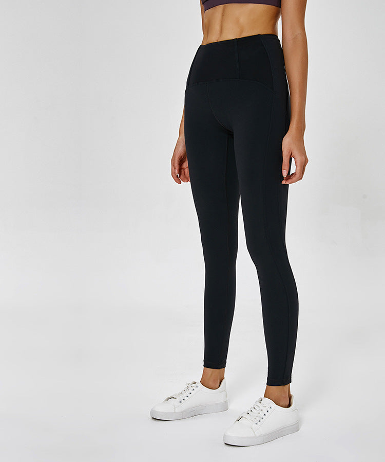 Black High Waist Workout Bottoms