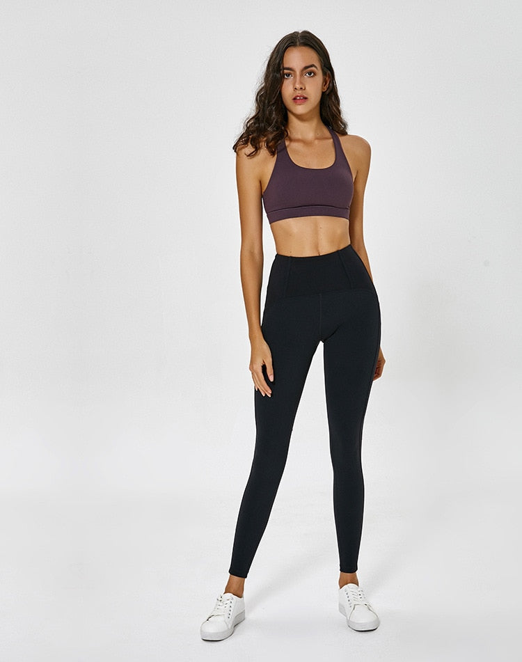 Black High Waist Gym Legging