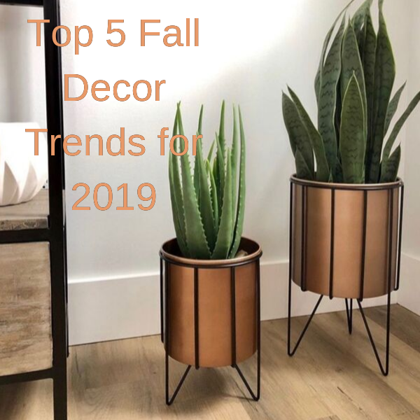 Top 5 Fall Decor Trends for 2019