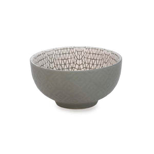 Grey Motif Bowl - Small
