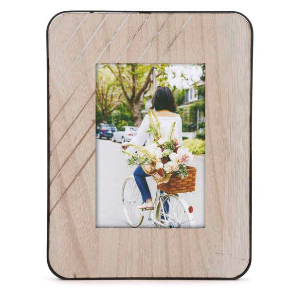 Natural Edge Photo Frame - 4x6