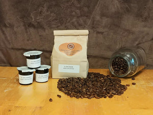 K-cup of El Salvador Angel Mountain Dazed and Roasted Home Roasted Ground Coffee