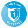 One Year Manufacturers Warranty