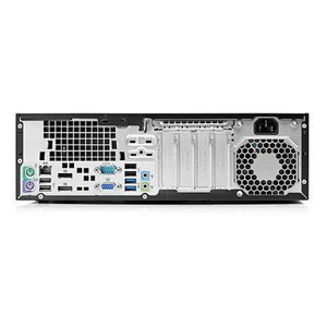 Refurbished Hp Elitedesk 800 G1 Sff Pc - I5-4570 3.2Ghz / 4Gb 500Gb Windows 10