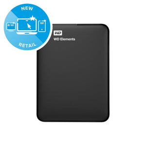 Wd Elements Portable 500Gb External Hard Drive Wdbuzg5000Abk