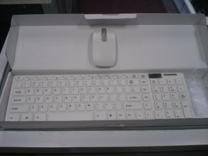Allay Production Slim Profile Wireless Keyboard and Mouse Combo