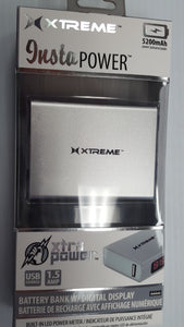 Xtreme 5200 mAH Power Bank with Flash Light - Brand New - Razzaks Computers - Great Products at Low Prices