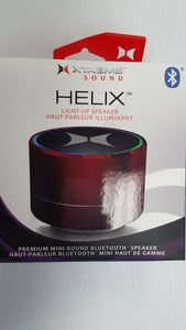 Xtreme Sound Helix Light-UP Mini Bluetooth Speakers - Brand New - Razzaks Computers - Great Products at Low Prices