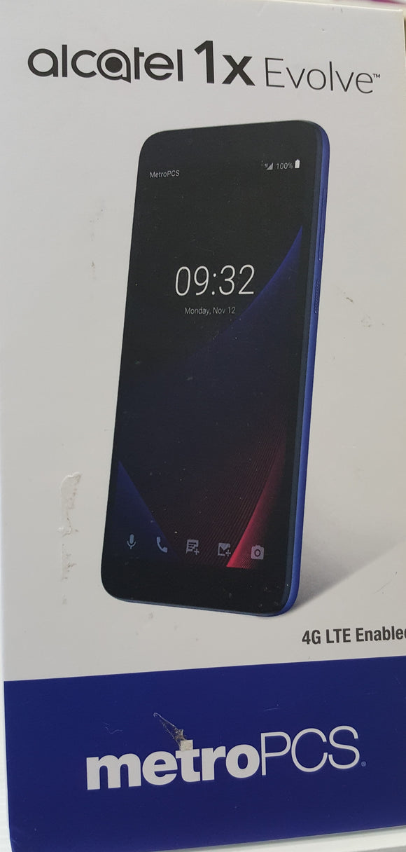 Alcatel 1x Evolve ALC 5059Z - 2GB, 16GB - Black (MetroPCS) Brand New - Razzaks Computers - Great Products at Low Prices