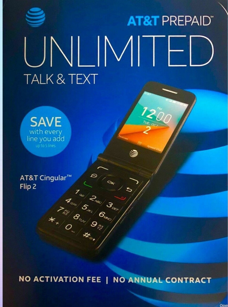 at&t activation fee for unlocked phone