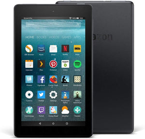 "Amazon Fire 7 Tablet, 7"" Display, 32 GB, Black (9th Generation) - Brand New - Razzaks Computers - Great Products at Low Prices"