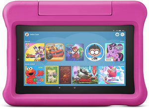 "Amazon Fire 7 Tablet Kids Edition, 7"" Display, 16 GB, Pink Kid-Proof Case (9th Generation) - Brand New - Razzaks Computers - Great Products at Low Prices"