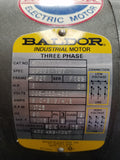 Baldor AC Motor M3211T 3 HP 1725 RPM Three Phase, ODP, 182T Frame - Used - Razzaks Computers - Great Products at Low Prices